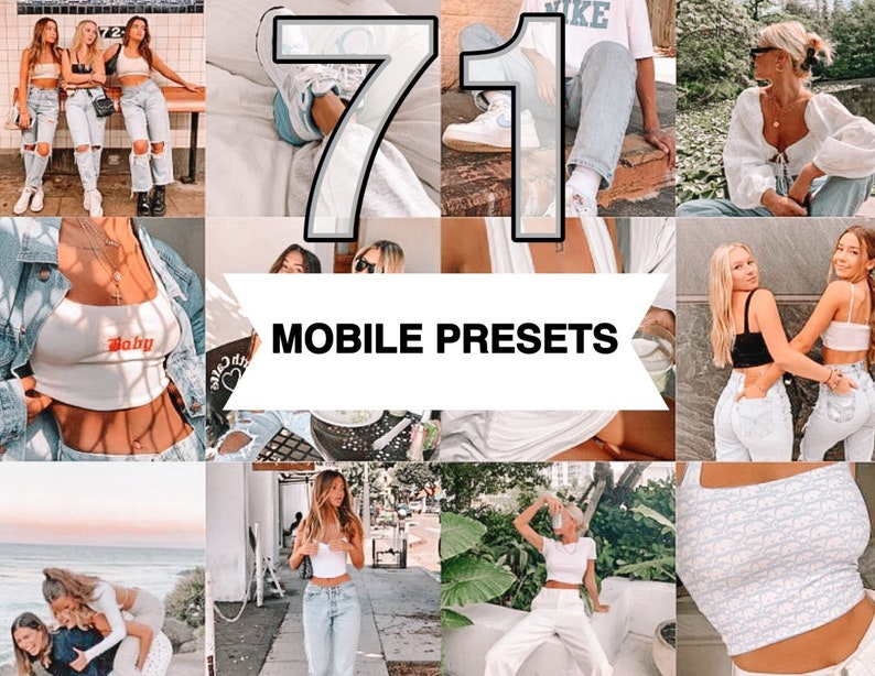 BUNDLE 71 Lightroom Presets Mobile  Instagram Blogger Preset image 0