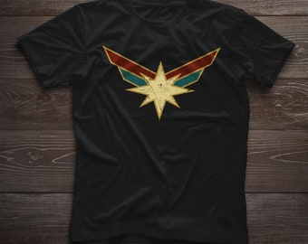 4fa326e6c1c Captain marvel shirt