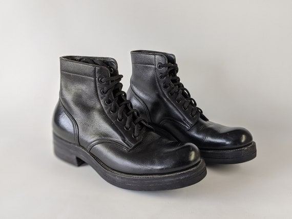 Vintage Military Boots