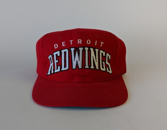 Vintage 90s STARTER Detroit Red Wings Snapback