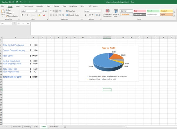 Ebay Sales Spreadsheet Template For Purchases Google Sheets Etsy