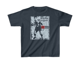 e6ad670a For Rocky Marciano Higgins Kids Heavy Cotton Tee