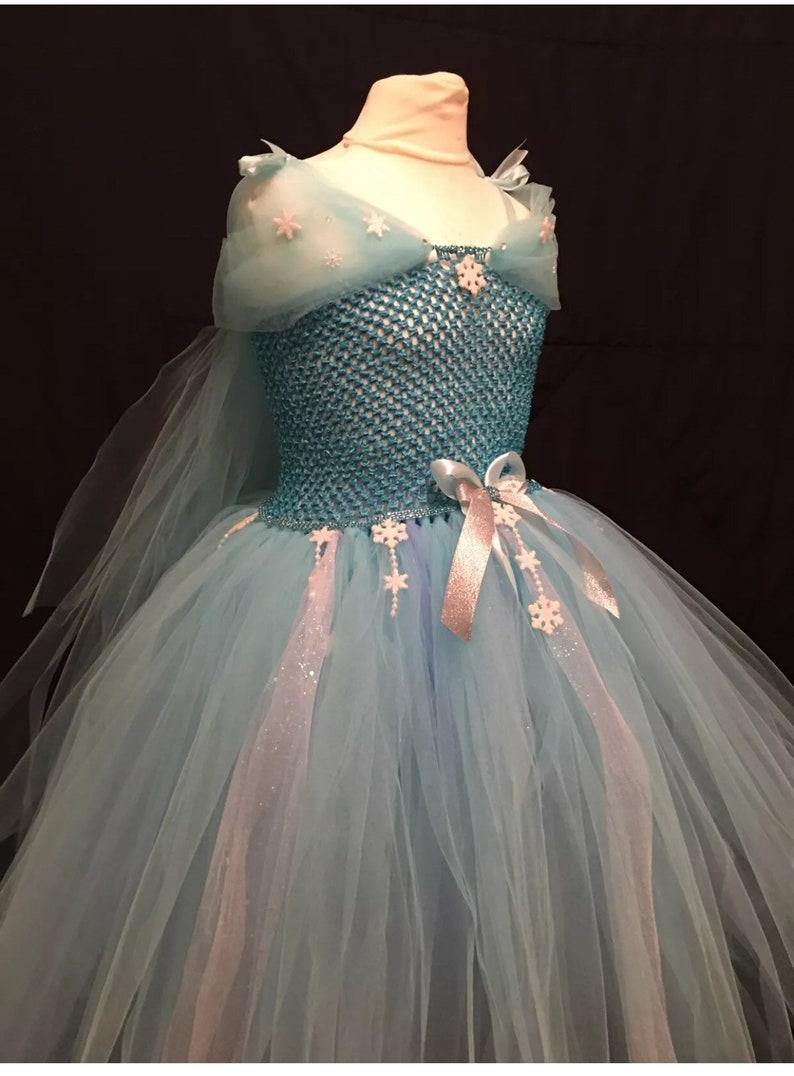 Frozen inspired tutu dress Elsa