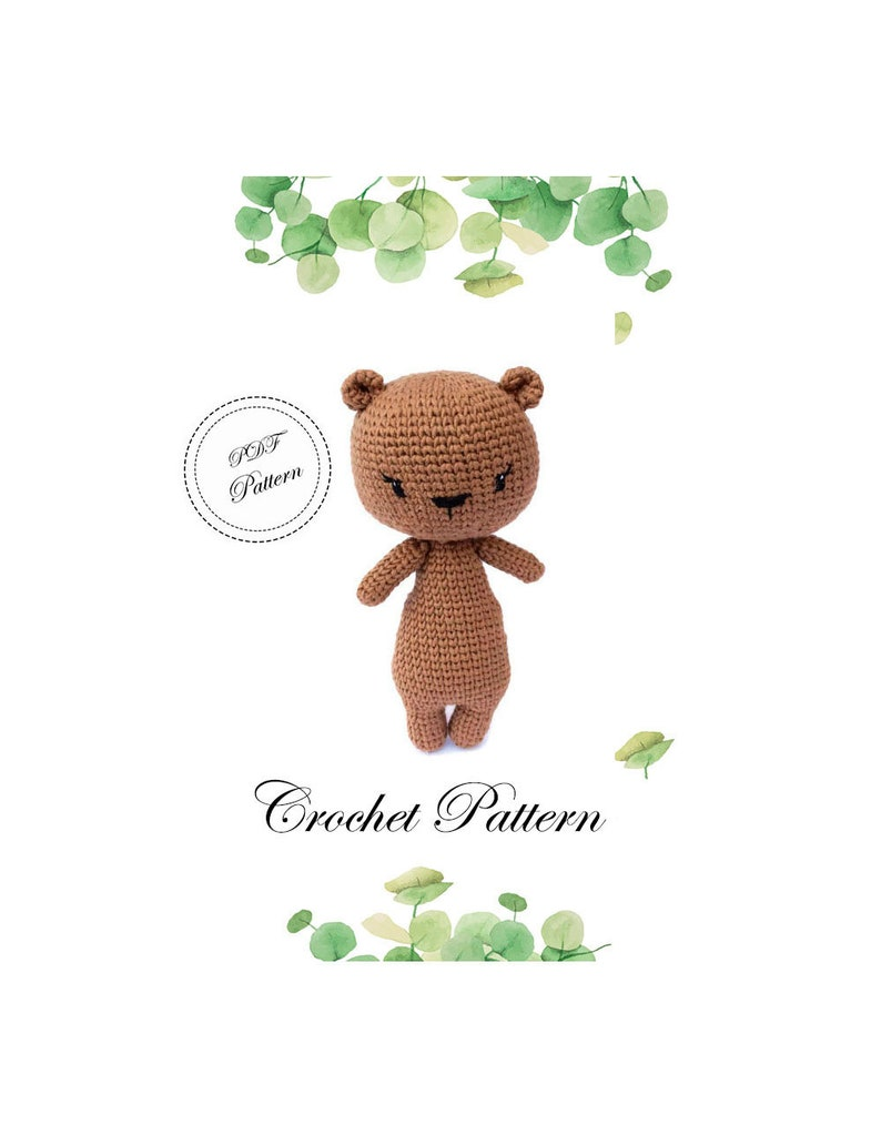 Crochet Teddy Bear Tutorial - YouTube   1023x794
