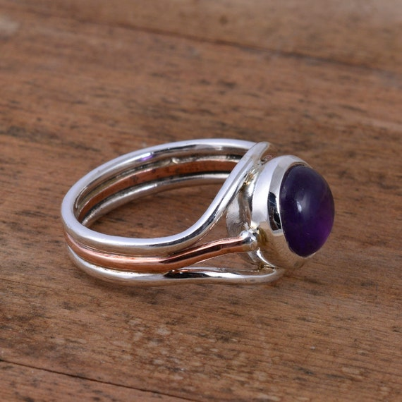 925 Silver Plated CARNELIAN /& Other Stone TRIBAL Ring Jewelry Size Variation