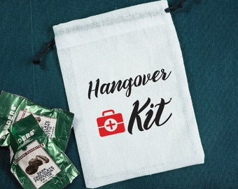 Cross Favor Bags Survival Kit Hangover Kit Hen Party Set of 10-100 bags Wedding Bag Emergency kit Recovery Bag Bachelorette
