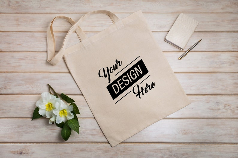 Set of 5 Cotton Tote Bag,Canvas tote bag,Cotton canvas totes,Plastic Free,Mini Totes,Merchandise Bag,Custom canvas totes,Organic Cotton Tote