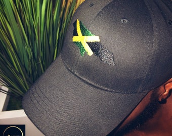 307322c7977fc4 National Flag Dad Cap/Baseball Cap available with Jamaica/Trinidad&Tobago  and more Caribbean Countries.