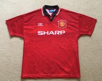 e516f7576 Original Manchester United home shirt season 1994-96 Size men s medium