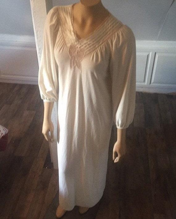 Vintage Vanity Fair Nightgown Small, Vintage Night