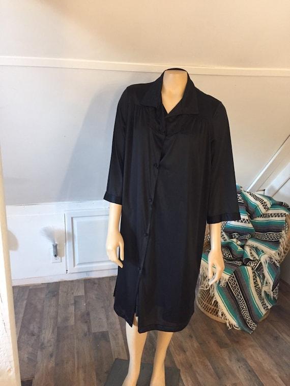 Vintage Vanity Fair Nightgown & Housecoat Set, S/M