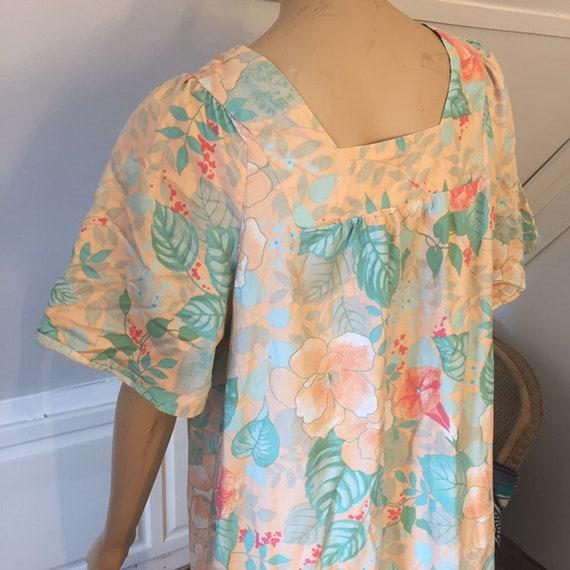 Vintage Sears Nightgown, Medium, 100% Cotton Nigh… - image 4
