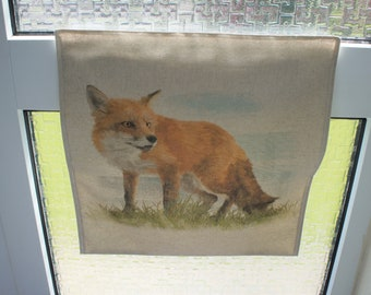 Fox Nature Printed Residential Letter Box Post Catcher. An Easy Fit Slim Flat Mail Catcher That Covers Your Flap Inside. No tools required