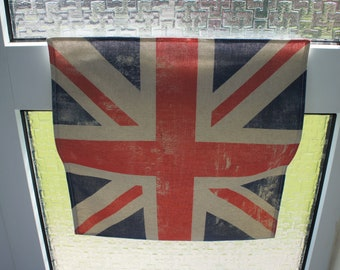Union Flag Printed Residential Letter Box Post Catcher. An Easy Fit Slim Flat Mail Catcher That Covers Your Flap Inside. No tools required