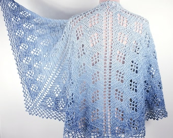 Crochet Pattern, Sparkling Waves, ByMimzan