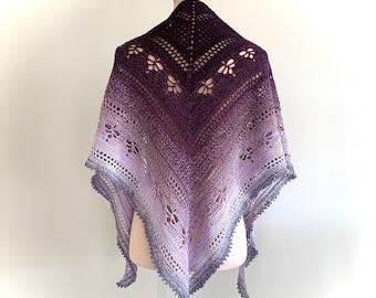 NEW!!! Crochet Pattern, Timetraveler shawl, ByMimzan
