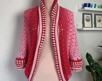 Crochet Pattern, Flower meets granny, ByMimzan