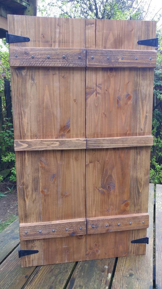 Rustic Hand Crafted Wall Mounted Jewelry Cabinet Armoire Etsy