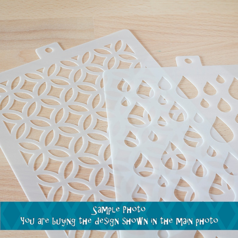 Out Of This Planet High Quality Genuine Mylar Reusable Stencil for Mixed Media