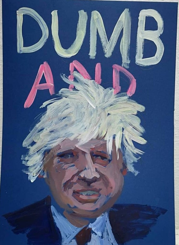 Boris Johnson Etsy