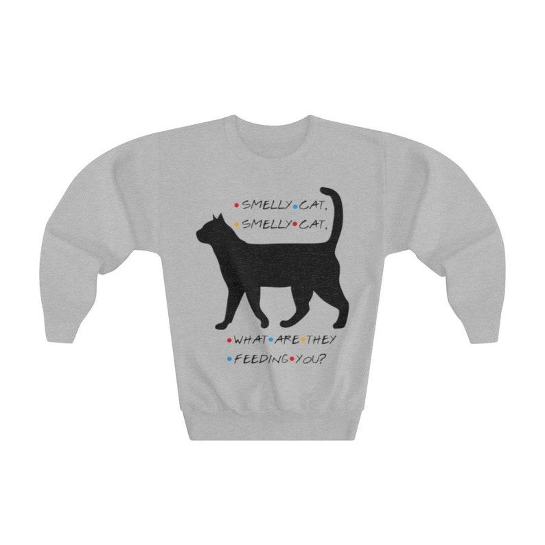 FRIENDS Phoebe Smelly Cat Youth Crewneck Sweatshirt
