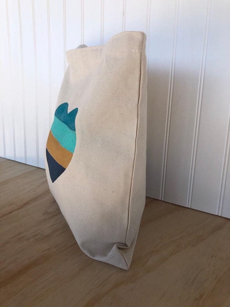 Tote Bag Heart Canvas Tote Bag Farmers Market Bag Cotton Canvas Tote Bag Book Bag Shopping Bag