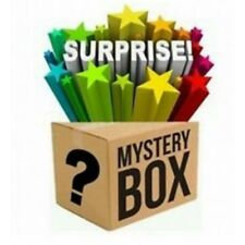 6 pack Mystery Slime Box with Free Gifts & Free Shipping image 0