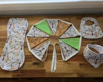 Australian Animal Baby Nursery Set