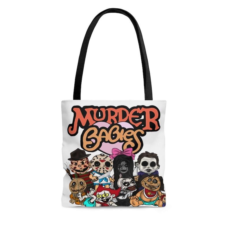 AOP Tote Bag A Muppet BabiesHorror Icons mashup! Murder Babies