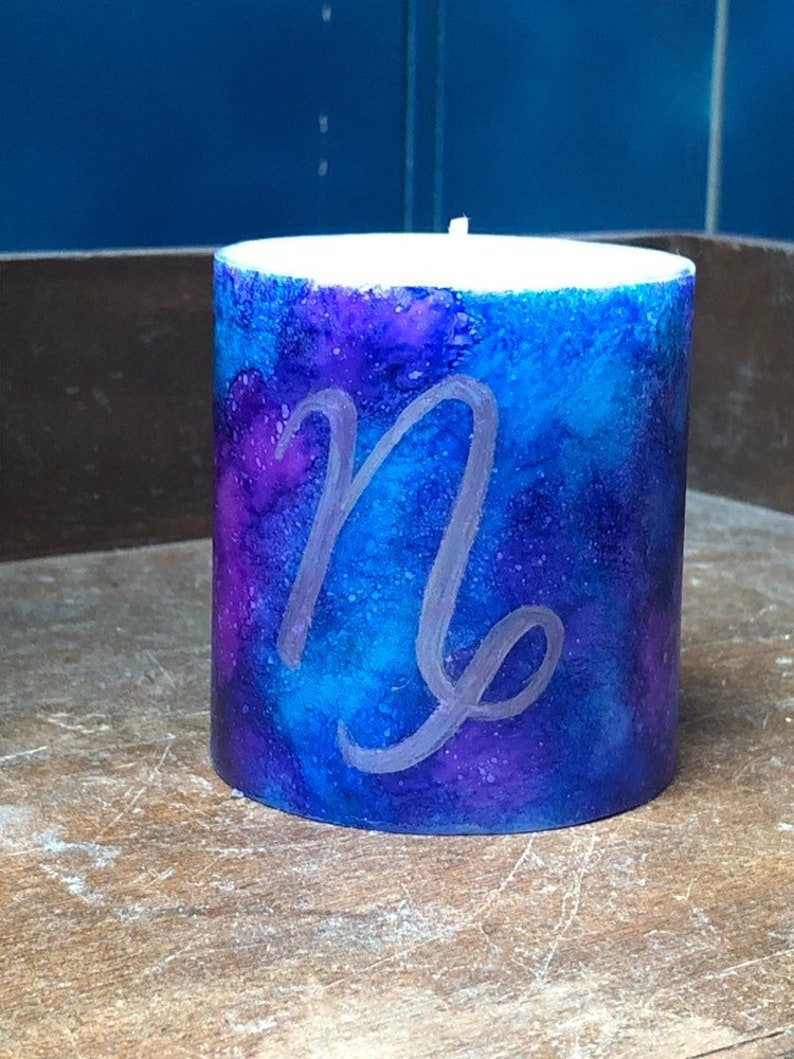 Small Zodiac Sign Candle