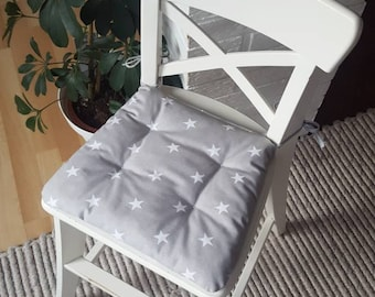Children's chair cushions for the INGOLF from IKEA