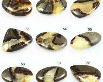Natural septarian cabochon Top quality septarian gemstone handmade and very beautiful design Use For Jewellery making 28Cts 25x21x6mm