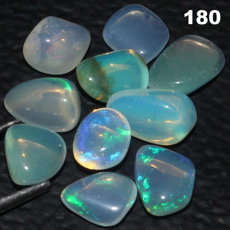 Smooth Opal Tumble Lot Mix Size Opal Tumble Natural Opal Tumble Tumble Opal Lot Natural Ethiopian Opal Tumble For Making Jewelry