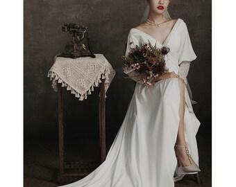 Western Wedding Dress Etsy