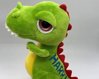 Personalised T-Rex Dinosaur Soft Toy