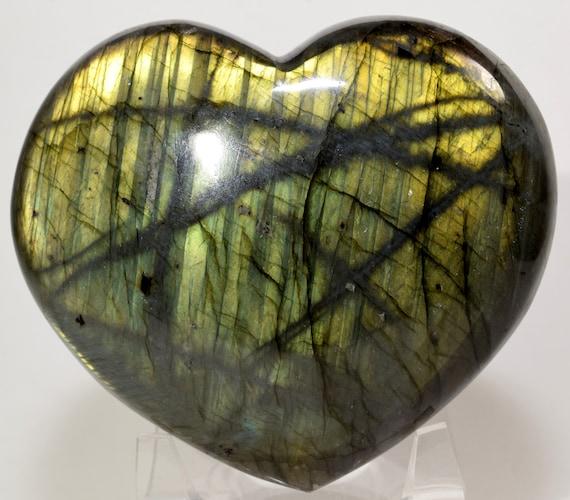 1pc Natural Labradorite Mineral Spectrolite Quartz Crystal reiki Healing 150g+