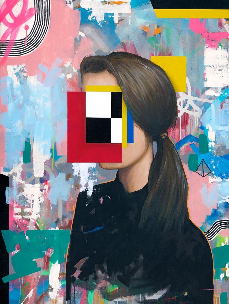 Girl 1  Original Painting image 0
