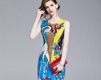 158523a89a3 Blue ladies dresses for women