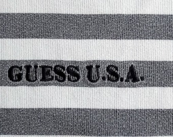eacb9fa393 Vintage 90's Guess Jeans Stripes Long Sleeve