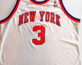 d1f4fb27c Vintage 90 s Champion New York Knicks  3 John Starks Jersey