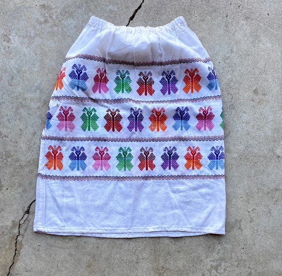 Vintage 60's/70's Butterfly Skirt - image 4