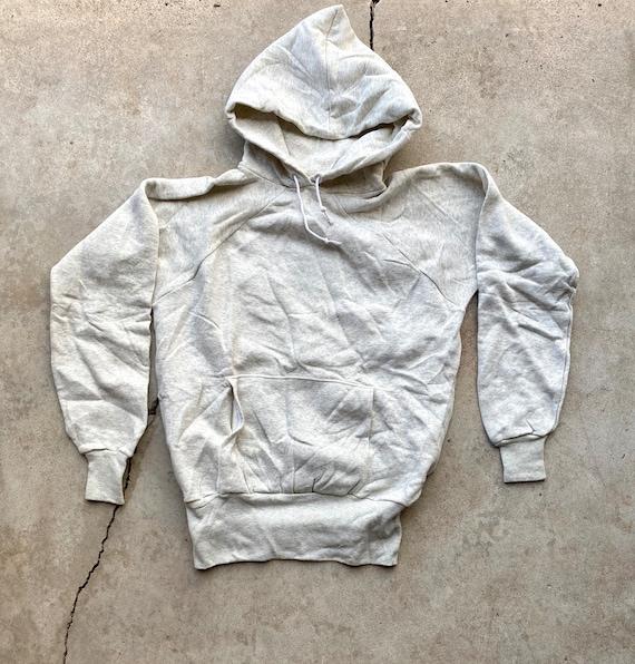 Vintage 50's/60's Gray Pullover Hoodie Sweatshirt,