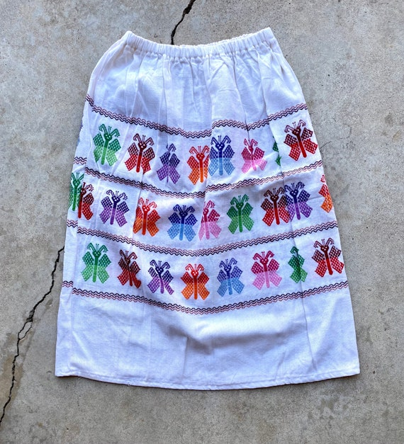 Vintage 60's/70's Butterfly Skirt - image 1