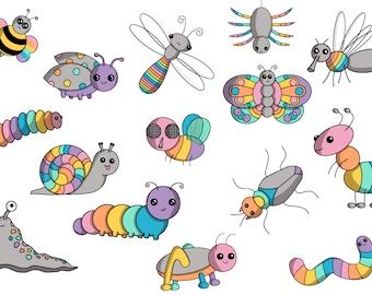 June Bug Sticker Set