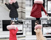 Women 39 s Winter Jackets and Coats 2019 Parkas for Women 4 colors wool jackets warm outerwear
