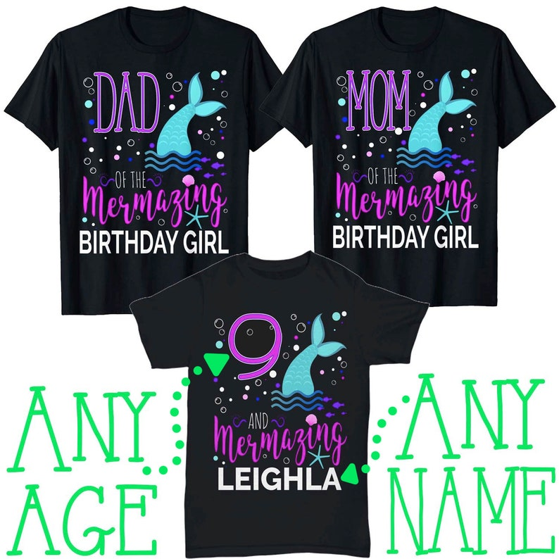 Have A Date With A Mermaid Dark Heather Adult T-Shirt