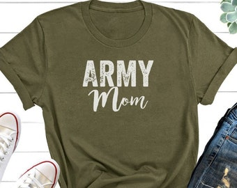 1b3a0cd2 Army Mom Shirt, Military Mom Shirt, Mothers Day Gift, Army Mom Tee, Army  Mom T-Shirt, Navy Mom Shirt, Marine Mom, Gift for Mom