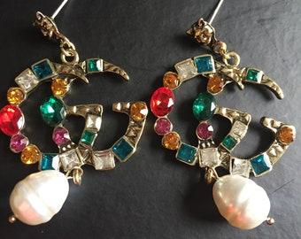 89add02dc80 fashion icon runway inspired earrings. AshleysclosetDesigns