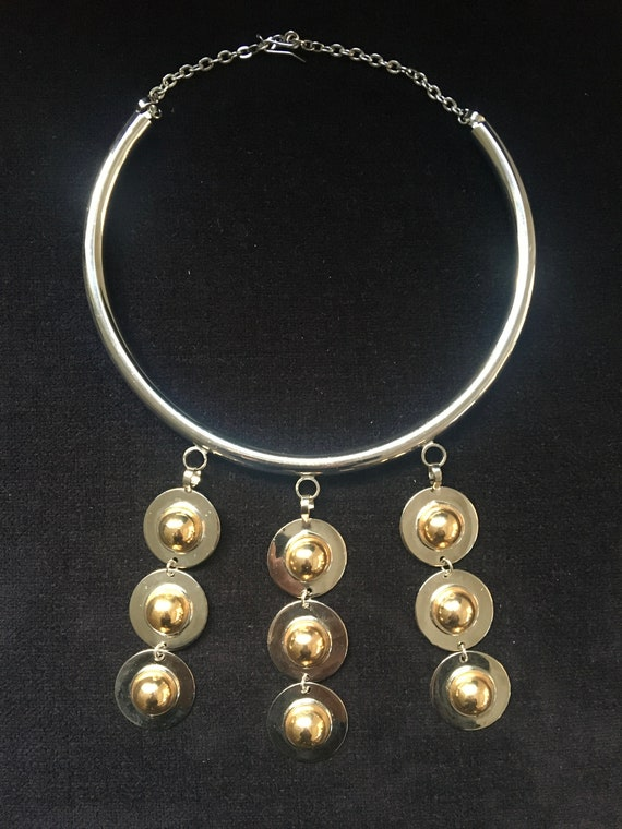 Pierre Cardin inspired 70's necklace