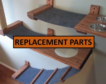 Replacement Parts / Spare Parts / Extra Parts / Lynx layouts / Cat Wall Furniture / Cat Furniture / Cat Bed / Feline Furniture / Cat Climber